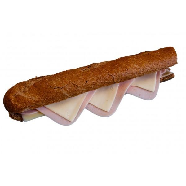 ΜΠΑΓΚΕΤΑ ΟΛΙΚΗΣ με γαλοπούλα και τυρί