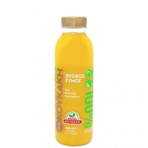ΧΥΜΟΣ 100% φυσικός  πορτοκάλι 500ml